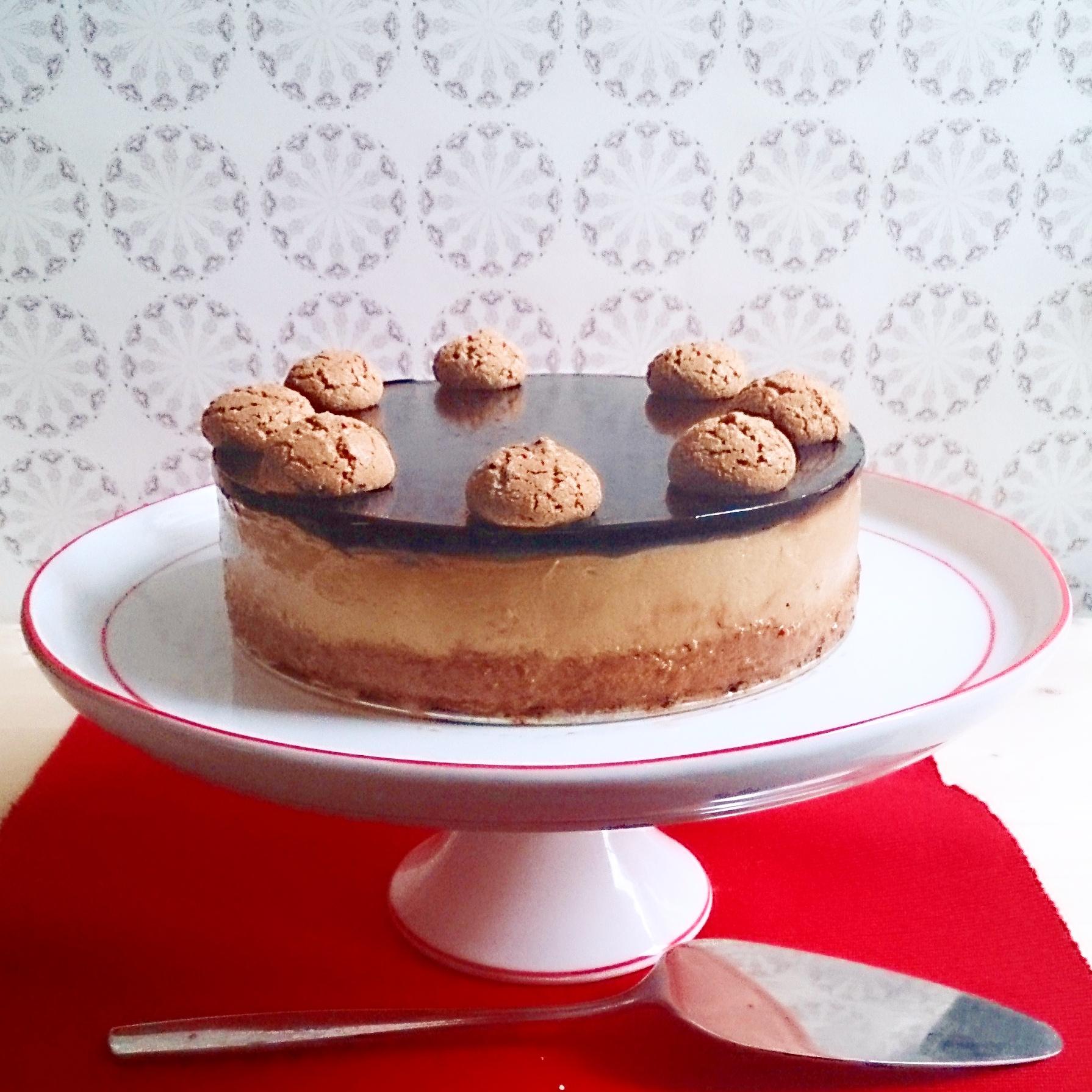 Cheesecake Con Amaretti Cacao E Caffè I Dolci Di Alice